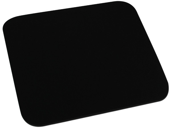 Mouse Pad de espuma 6mm, color Negro