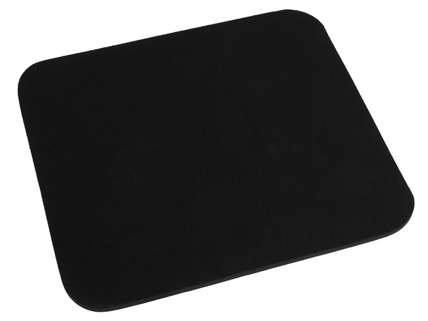 Mouse Pad Manhattan OEM de espuma 6mm, color Negro