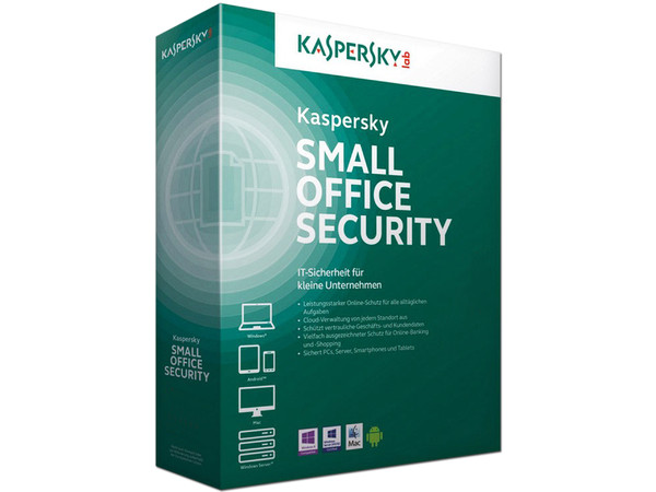 Kaspersky Small Office Security 5, 1 Servidor, 5 Usuarios, 1 Año.