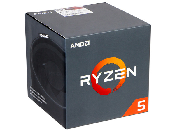 Procesador AMD Ryzen R5 1600, 3.2 GHz (hasta 3.6 GHz), Socket AM4, Six-Core, 65W.