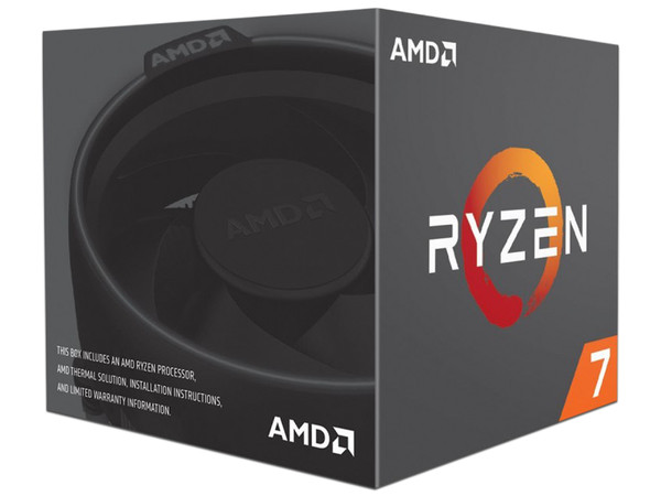 Procesador AMD Ryzen R7 2700 de Segunda Generación, 3.2 GHz (hasta 4.1 GHz), Socket AM4, Eight-Core, 65W.