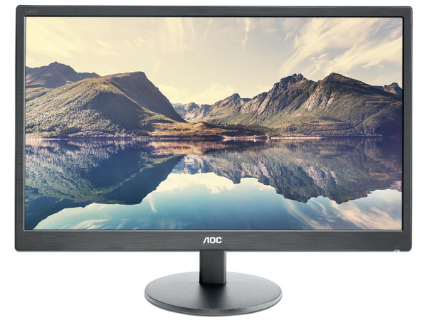 Monitor LED AOC E2270SWHN de 21.5 Pulgadas , Resolución 1920 x 1080 (Full HD 1080p), 5 ms.